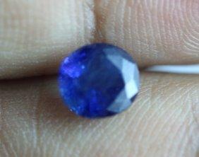 Natural Burma Blue Sapphire 2.01 Carats