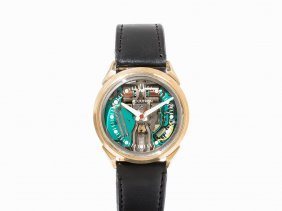 Bulova Accutron Spaceview Wristwatch, Usa, C. 1966