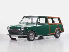 Innocenti Mini Cooper 1000 Traveller Woody, Model 1968