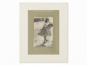 George Thornley After Edgar Degas, Petite Danseuse,