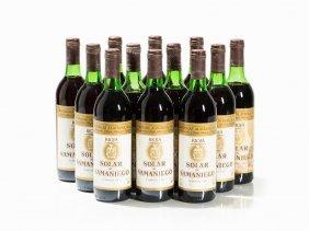 12 Bottles 1983 Solar De Samaniego Rioja Crianza