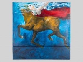"""Volker Dierkes, Painting """"das Pferd"""", Germany,"""