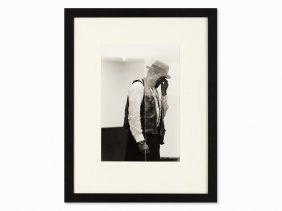 """Benjamin Katz, """"joseph Beuys Westkunst"""", Signed,"""