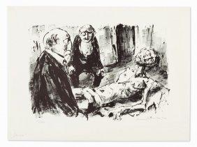 Hans Fronius (1903-1988), Lithograph, 'hiob', Austria,