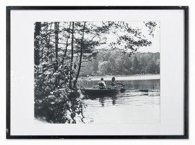 Hans G. Casparius (1900-1986), Rowboat, C. 1900