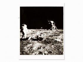 Nasa, Aldrin Walks Towards Lr-3 & Lunar Module, Apollo