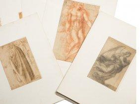Albertina Facsimile, Drawings By Italian Masters,