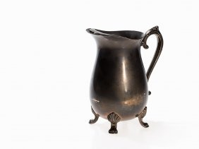 Lemonade Pitcher, Victorian Style, Silver-plated, 20th