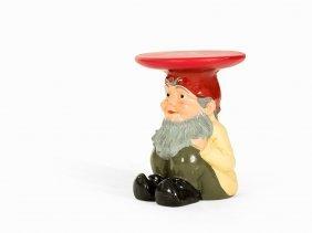 Philippe Starck, Garden Gnome Stool, Kartell, Italy, C.