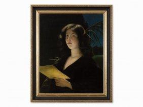 Otto Lingner (1856-1917), Female Portrait (hosiannah),