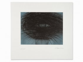 Arnulf Rainer, Drypoint, 'gewitter', Germany, 1993