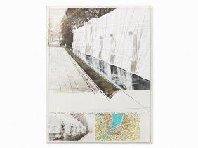 Christo, Wrapped Mur Des Rformateurs (project F.