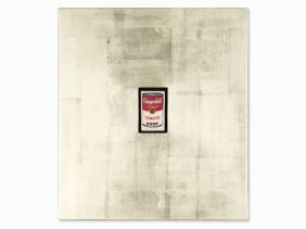 Ryan Terry, Oil Painting, 'campbell 's Soup Tin,