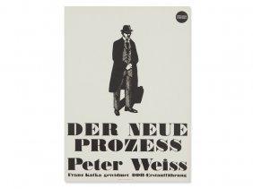 K.h. Drescher, Poster Berlin Ensemble 'der Neue