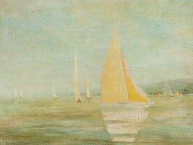 J. W. Federmutz, Two-sided Painting, Around 1930