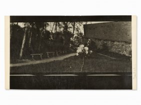 Josef Sudek, 'v Parku' (at The Park), Signed, C. 1920s