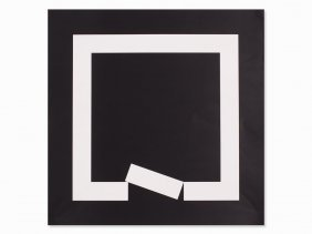 Erwin Heerich, Composition With Square, Offset