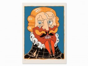 Simon Dittrich, The Duke Of Alba, Serigraph In Colors,