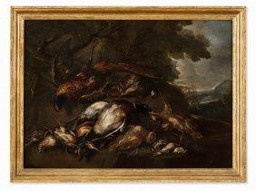Angelo Maria (crivellone) Crivelli, Hunting Still Life,