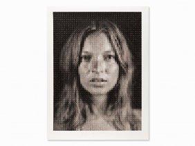 Chuck Close, Kate, Pigment Print, 2013