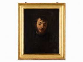 Oil Painting, Portrait Of A Young Jew, C. 1870