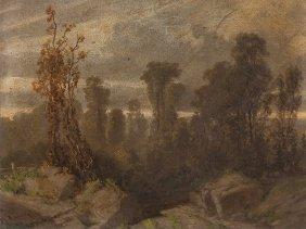 Heinrich Von Reder (1824-1909), Landscape, 19th
