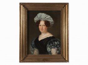 Franz Seraph Stirnbrand, Portrait Of A Lady, Germany,