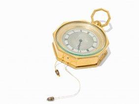 An Octagonal Carriage Clock With Music Mechanism,ch,