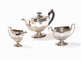 A Tea Service By Harrison Bros. & Howson, Sheffield,