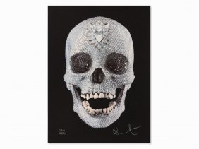 Damien Hirst, For The Love Of God, Serigraph, 2007