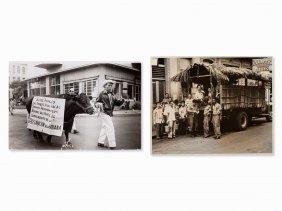 Alberto Korda & Osvaldo Salas, Two Vintage Prints,