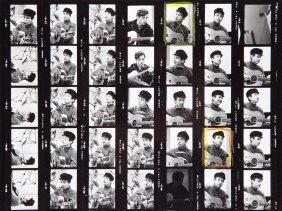 Don Hunstein, Gelatin Silver Print, 'bob Dylan', Usa,