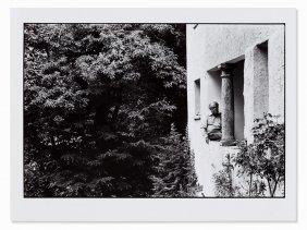 Robert Lebeck, Max Frisch In Berzona, Signed,