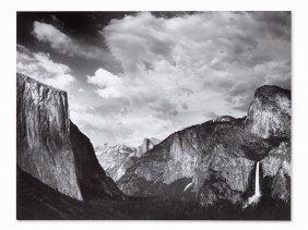 Robert Werling (b. 1946), 'yosemite Valley', Signed,