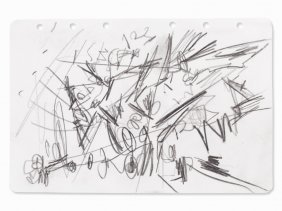 Emilio Vedova (1919-2006), Composition Ii, Drawing,