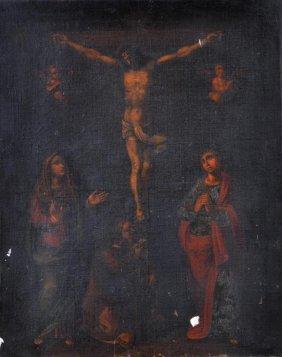 Italian School (18th Century) The Crucifixion With