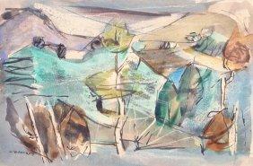 Louis Le Brocquy H.R.H.A. (1916-2012) Catty Gollag