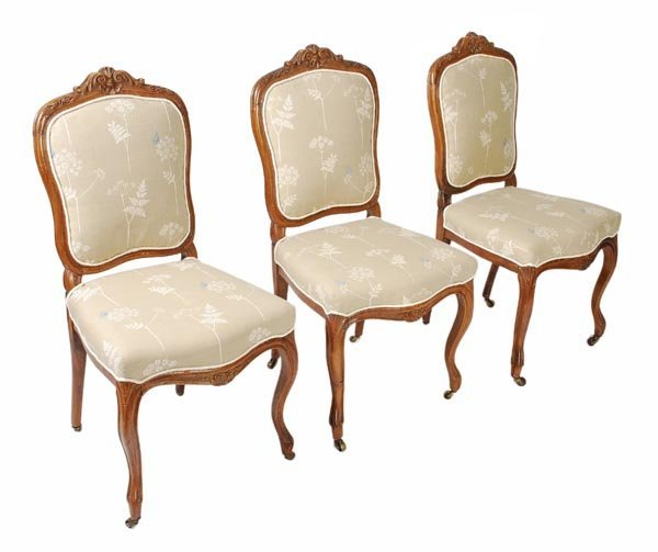 Fruitwood French Provincial Dining Room Set