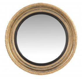 A Regency Giltwood And Gesso Mirror , Circa 1815