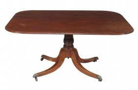 A George Iv Mahogany Breakfast Table , Circa 1825, 73cm