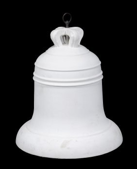 A Large Plaster Model Of A Bell, Early 20th Century,