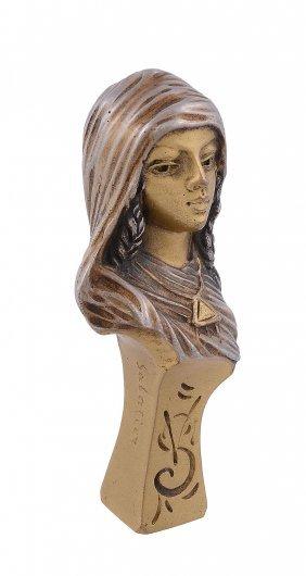 Victorin Sabatier, A French Art Nouveau Gilt Bronze