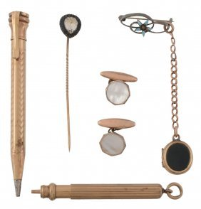 A Small Collection Of Items, To Include: A Propelling
