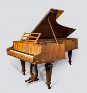 A Grand Piano By Collard & Collard, London, Circa 1835