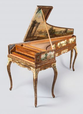 A Single-manual Harpsichord By Aelpidio Gregori, Sant