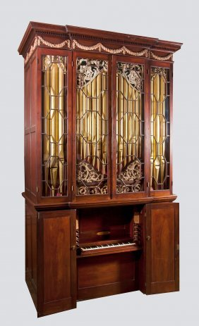 A Chamber Organ By John Byfield Junior, London, 1766 ,