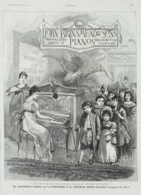 Brimsmead & Sons.- - John Brinsmead & Sons Pianos