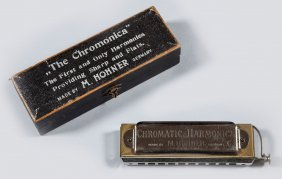 A Chromatic Harmonica By M. Hohner, Trossingen, Post