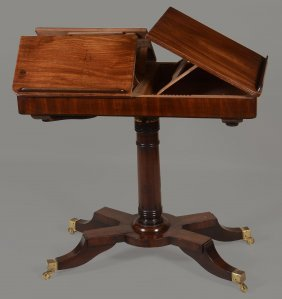 A Regency Mahogany Trio Stand, Circa 1815