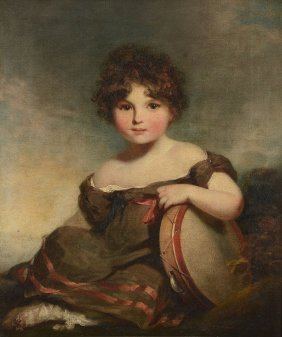 William Owen, Ra (1769-1825) - Portrait Of Lady